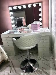 makeup vanity with storage