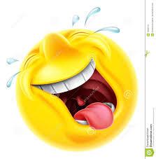 Illustrazione circa Un carattere sorridente di risata molto felice ...
