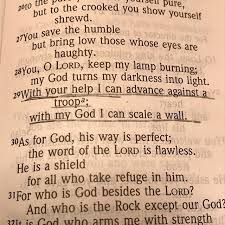 psalm18v29 hashtag on Twitter