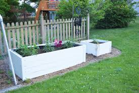 Fenced Raised Garden Bed Home Designs Inspiration