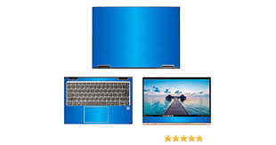 Amazon Com Decalrus Protective Decal For Lenovo Yoga 730 13 13 3 Screen Laptop Lite Blue Texture Brushed Aluminum Skin Case Cover Wrap Balenovoyoga730 13liteblue Electronics