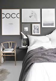 light grey wall bedroom ideas dark
