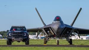 F 22 Fighter Jet Inspired 545 Horsepower Ford F 150 Raptor Sells For 300 000