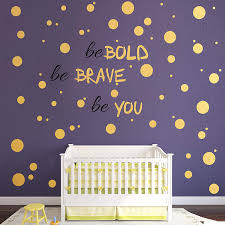 Amazon Com 193 Pcs Gold Dot Wall Decal Christmas Decoration Inspirational Quote Easy To Peel Easy To Stick Removable Vinyl Polka Dot Decor Living Room Wallpaper Boy Nursery Wall Decals Kitchen