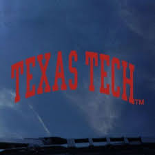 Texas Tech Red Raiders Color Shock School Name Decal Barnes Noble At Texas Tech
