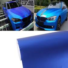 Blue Car Film 1 52m 0 5m Electroplating Auto Stickers Self Adhesive Sticker Side Truck Vinyl Graphics Buy At A Low Prices On Joom E Commerce Platform