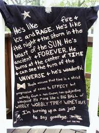 i need to make a doctor who shirt my favourit best quotes