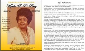 MYRTLE L. PERRY
