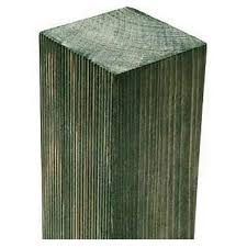 Forest Wooden Fence Post 240 X 7 5 X 7 5cm Homebase