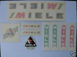 Vintage Miele Bicycle Bike Decal Decals Sticker Stickers Set Not Remade Ebay