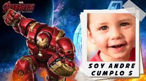 Invitacion Animada Avengers Youtube