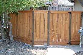 6 Ft Fence With Pressure Treated Post In Mountain View With Images Wood Fence Design Horizontal Fence Front Yard Landscaping Design