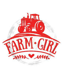 Excited To Share This Item From My Etsy Shop Farm Girl Tractor Vinyl Decal Sticker Car Decal Country Vinyl Decal Stickers Vinyl Decals Window Stickers