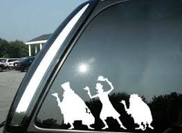 Disney Inspired Haunted Mansion Hitchhiking Ghosts Vinyl Decal Etsy