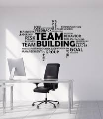 Vinyl Wall Decal Team Building Teamwork Work Business Office Room Stic Wallstickers4you