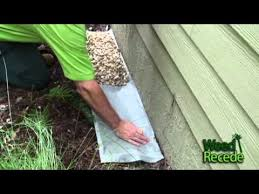 Easy To Install Rock Ecoboundary Around House Using Weed Recede Tm Youtube