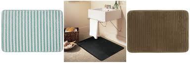 popcorn memory foam bath rug for 3 50