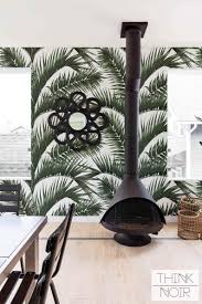 Amazon Jungle Leaves Wall Mural For Walls Thinknoirwallpaper