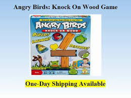 Mattel - Angry Birds Knock On Wood Game by Mattel Toys - video ...