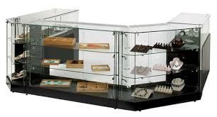 frameless display cases allen display