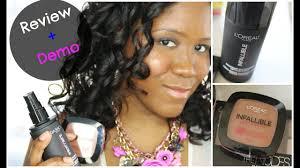 infallible pro spray set makeup
