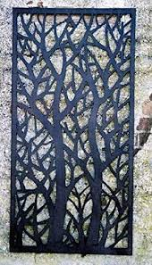 Decorative Tree Garden Wall Fence Panel 120cm H X 60cm W 12b957 Amazon Co Uk Garden Outdoors