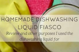 homemade dishwasher fiasco lookforsmile