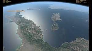 Orbiter l' Italia vista dallo spazio da 400 Km di altezza - YouTube