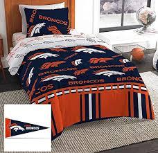 denver broncos twin comforter amp