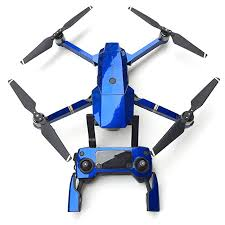 Peleustech Fluorescence Stickers Full Set For Dji Mavic Pro Drone Skins Decals Remote Controller Waterproof Stickers Blue Top Rated Drones For Sale