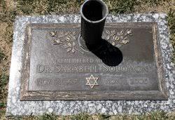 Dr Sarabell Fineman Solomon (1927-2006) - Find A Grave Memorial