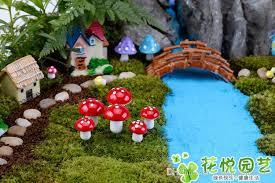 fairy garden artificial plant miniature