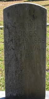 Ida Fowler Jones (1858-1944) - Find A Grave Memorial
