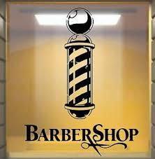 Barbers Pole Window Shop Front Vinyl Sticker Decal Wall Art Ebay