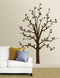 Brown Tree Wall Decal Allposters Com