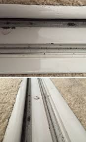 track for sliding mirror closet doors