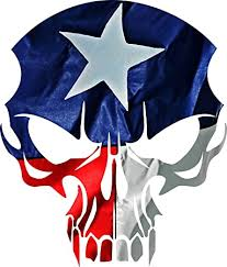 Amazon Com Texas Flag Skull Decal Set Of 2 Vinyl Sticker Indoor Outdoor For Auto Glass Walls Or Any Surface Home Improvement