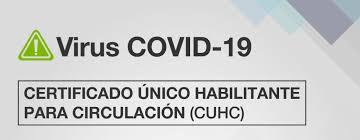 CERTIFICADO ÚNICO HABILITANTE PARA CIRCULACIÓN (CUHC) | Municipio ...