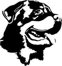 Rottie Mom High Quality Rottweiler Vinyl Dog Window Decal Sticker 7 99 Picclick