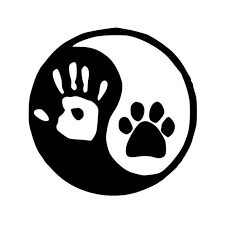 Yin Yang Vinyl Decal Sticker Human Hand Dog Cat Canine Etsy In 2020 Dog Paws Yin Yang Vinyl Decals