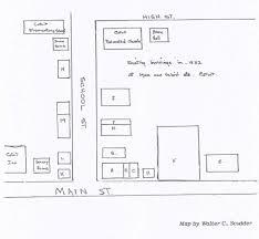 Main Street Cotuit 1932 - Cotuit Fire District