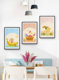 Cute Childrens Room Animal Triple Frame Decorative Painting Template Image Picture Free Download 401411272 Lovepik Com