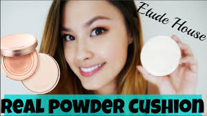 etude house real powder cushion