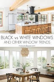black windows and other window trends