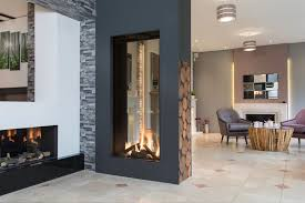 double sided fires tunnel fireplaces