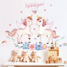 Cute Unicorn Wall Stickers Unilovers