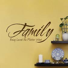 Family Love Decor Living Room Sticker Thanksgiving Ideas Office Wall Decal American Wall Designs