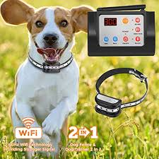 Hokita Dog Fence Wireless Training Collar Outdoor 2 In 1 Electric Pet Containment System Waterproof Reflective Stripe Collar Harmless For All Dogs Lucky466 Online Sales