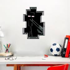 Enderman Minecraft Wall Stickers Wall Decals Wall Stickers For Kids Ireland