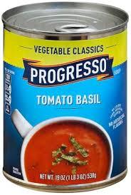 progresso tomato basil soup 19 oz